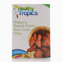 Camote Chips Sour Cream, 150g by Healthy Tropics