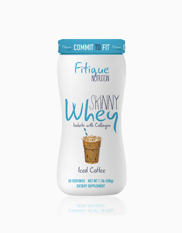 Skinny Whey Isolate With Collagen (Iced Coffee) by Fitique Nutrition