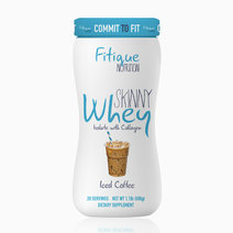 Skinny Whey Isolate With Collagen (Iced Coffee) by Fitique Nutrition in