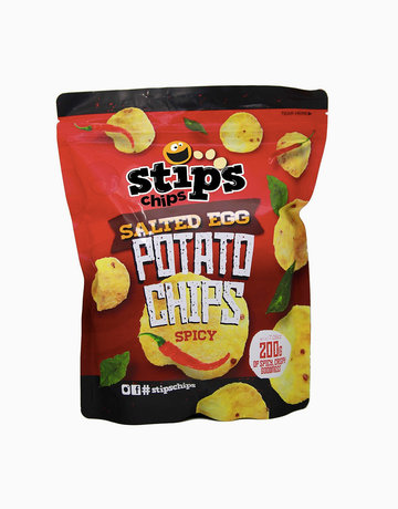 Salted Egg Potato Chips (Spicy Flavor) 200g by Stip's Chips