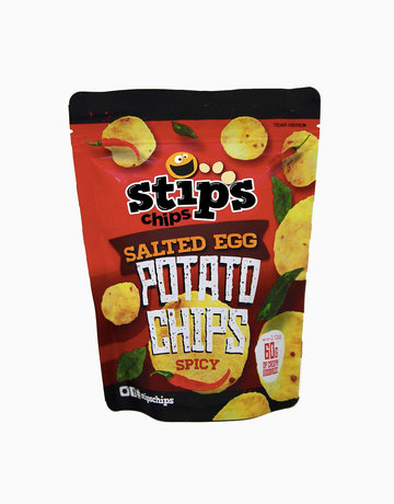 Salted Egg Potato Chips (Spicy Flavor) 60g by Stip's Chips