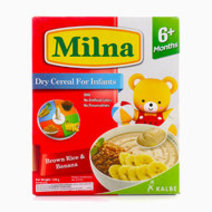 Milna Baby Cereals (Brown Rice and Banana) by Milna Baby Food