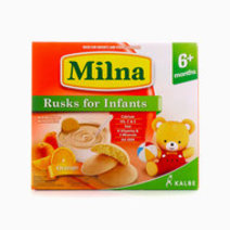 Milna Rusk for Infants, 12 Pieces (Orange) by Milna Baby Food