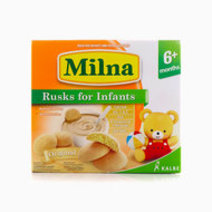 Milna Rusk for Infants, 12 Pieces (Original) by Milna Baby Food