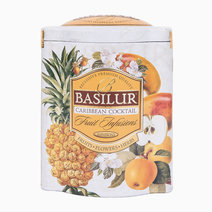 Basilur fruit infusions   t.caddy  caribbean cocktail 100g