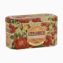 Basilur magic fruits tea bag raspberry   rosehip 2gx20