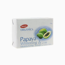 Bench ogranics  handmade bar soap in papaya   milk
