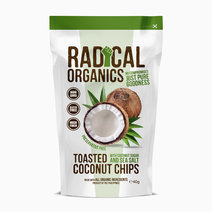 Radicalorganics 40g original flavor organic toasted coconut chips
