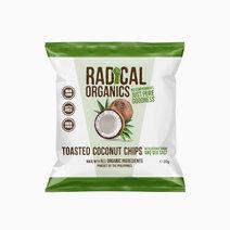 Radicalorganics 20g original flavor organic toasted coconut chips