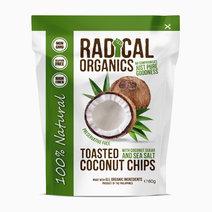Radicalorganics 80g original flavor organic toasted coconut chips