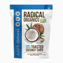 Radicalorganics 80g simply salted flavor organic toasted coconut chips