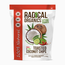 Radicalorganics 80g chili   lime flavor organic toasted coconut chips