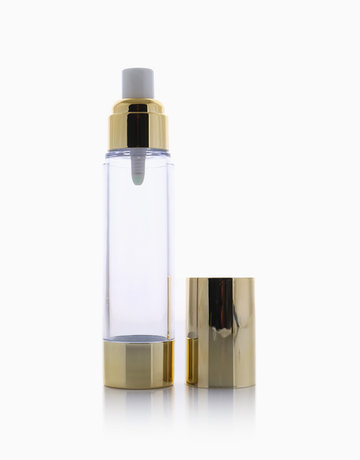 Gold Airless Pump Bottle (50ml) by Keme Packaging