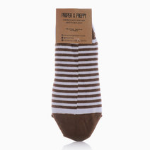 No Show Christmas Lines Socks by Proppy