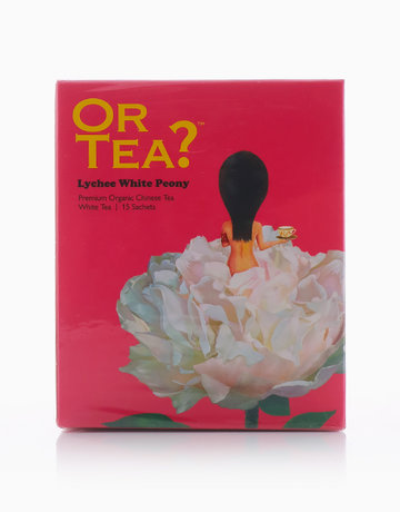 Lychee White Peony Sachet Box by Or Tea