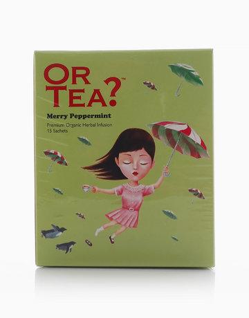 Merry Peppermint Sachet Box by Or Tea