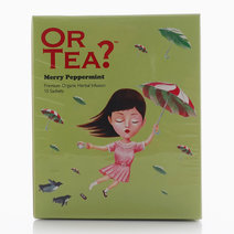Merry Peppermint Sachet Box by Or Tea