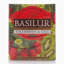 Strawberry & Kiwi Magic Fruits Tea Bag by Basilur