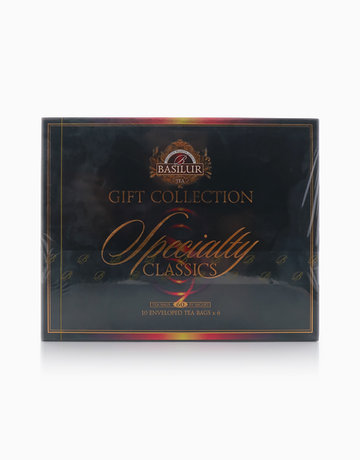 Specialty Classics Gift Box Foil Enveloped Tea Bags by Basilur