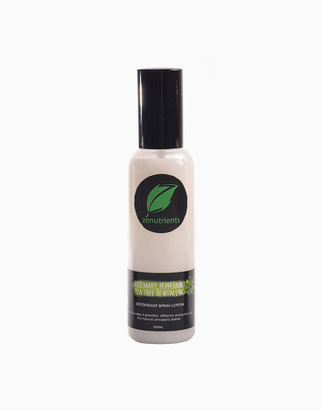 Rosemary Deo Spray (100ml) by Zenutrients