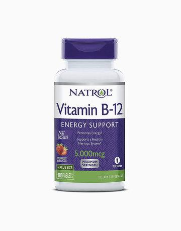 Vitamin B12 Energy Support 5,000mcg (100 Tablets) by Natrol