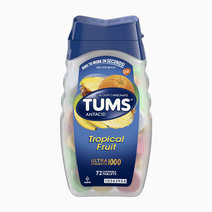 TUMS Antacid Chewable Tablets for Heartburn Relief, Ultra Strength, Tropical Fruit  by Tums