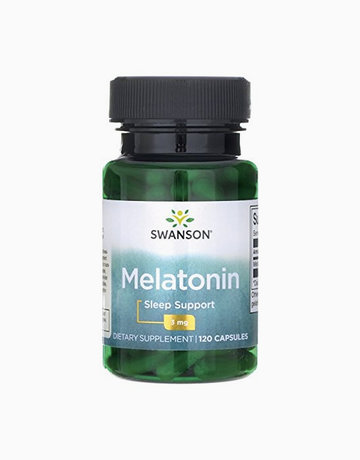 Melatonin 3mg (120 Capsules) by Swanson