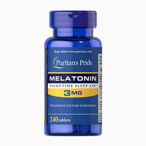 Melatonin 3mg (240 Tabs) by Puritan's Pride