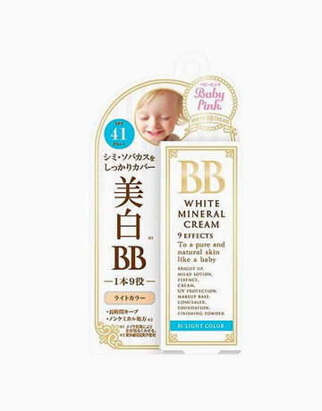 Baby Pink BB White (Light) by Bison