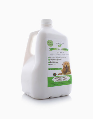2-in-1 Organic Dog Shampoo & Conditioner in Green Tea Spa (4L) by Pet Project Organics