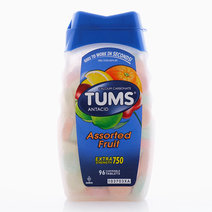 TUMS Antacid Chewable Tablets for Heartburn Relief, Ultra Strength, Assorted Fruit  by Tums