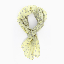 Damask & Dots Scarf by Luxe Studio