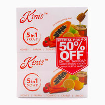 5 in 1 Soap 135g (Buy 2, Save 50% on 2nd Soap) by Kinis in