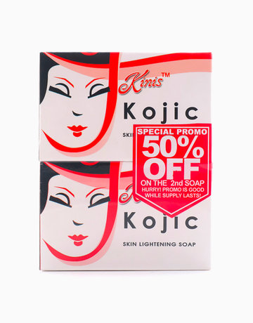 Kojic Soap 135g (Buy 2, Save 50% on 2nd Soap) by Kinis
