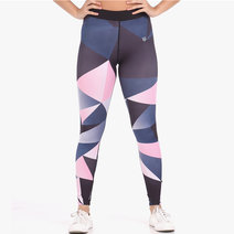 Pink Prism Leggings Tights by Meraki Sports in