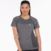 Agili Tee in Gray by Lotus Activewear in