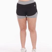 Zen Shorts in Light Gray by Lotus Activewear