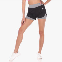 Zen Shorts in Light Gray by Lotus Activewear