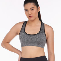 Trainer Bra in Space Gray by Lotus Activewear