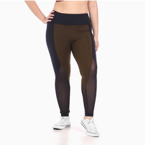 Zobha Freya Legging in Juniper Green by Aura Athletica