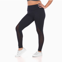 Zobha Freya Legging in Black by Aura Athletica