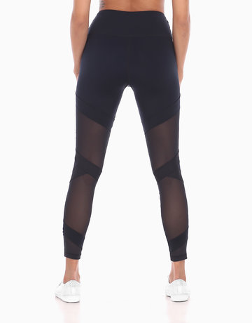 7e2232ec2fb6b4 Zobha Crew Bandage Legging in Black by Aura Athletica | BeautyMNL