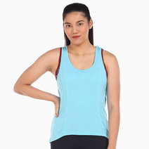 Zobha Billie Singlet in Blue by Aura Athletica