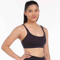 Alo Yoga Work it Out Bra in Black Zebra by Aura Athletica