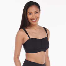Alo Yoga Facet Bra in Black by Aura Athletica