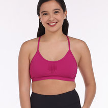 Maddie Bra in Fuchsia Pink by 3Boro Active