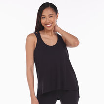 Alo Yoga Cozy Tank in Black by Aura Athletica
