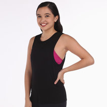Brooke Tank in Black by 3Boro Active