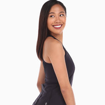 Tonic Merene Tank in Black by Aura Athletica