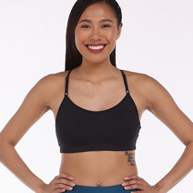 Casall Glorious Sports Bra in Black by Aura Athletica